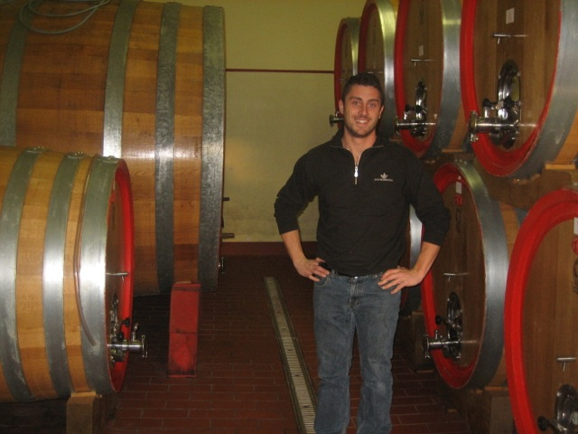 Marco Anselmi of the Montemercurio estate in Montepulciano