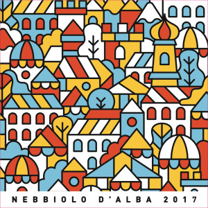 Nebbiolo d'Alba 2017 Front Label