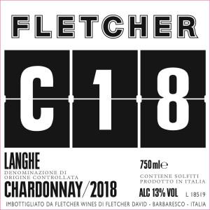 Fletcher Chardonnay Front Label